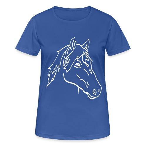 Haflinger Chiaro - Frauen T-Shirt atmungsaktiv