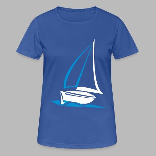 segelyacht - Frauen T-Shirt atmungsaktiv