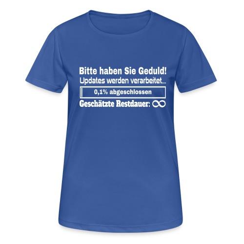 Update Ladebalken - Frauen T-Shirt atmungsaktiv