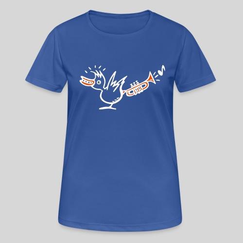 trompetenvogel - Frauen T-Shirt atmungsaktiv