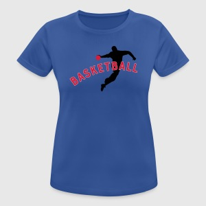 Basketball - Frauen T-Shirt atmungsaktiv
