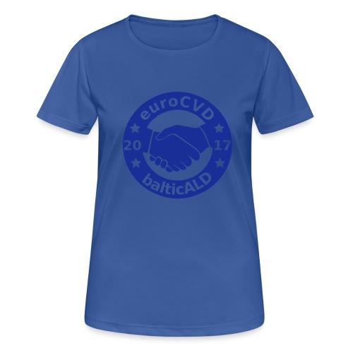 Joint EuroCVD-BalticALD conference womens t-shirt - Women's Breathable T-Shirt