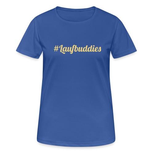 laufbuddies - Frauen T-Shirt atmungsaktiv