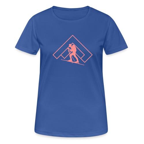 Skitour - Frauen T-Shirt atmungsaktiv