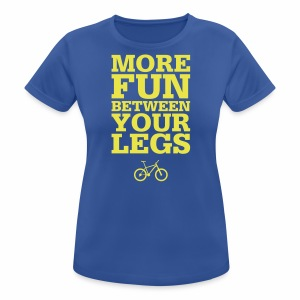 More Fun - Frauen T-Shirt atmungsaktiv