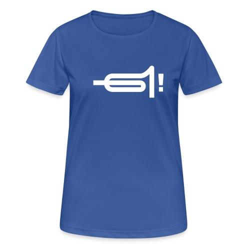 uffgebrassd13b - Frauen T-Shirt atmungsaktiv