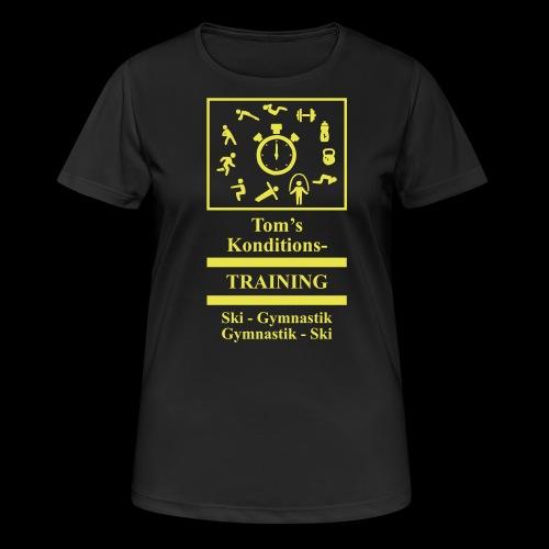 T-Shirt - Frauen T-Shirt atmungsaktiv