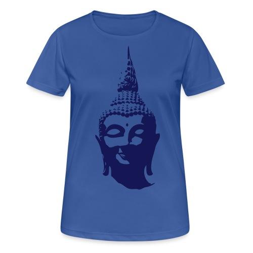 Boeddha hoofd - Vrouwen T-shirt ademend actief