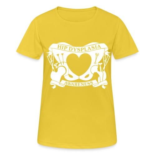Hip Dysplasia Awareness - Women's Breathable T-Shirt