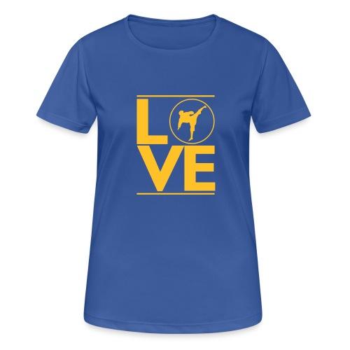 Love karate - T-shirt respirant Femme
