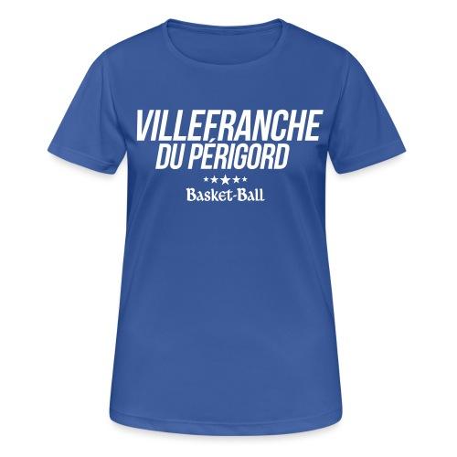 Logo-VDP - T-shirt respirant Femme