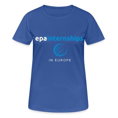 EPA Logo White - Women's Breathable T-Shirt