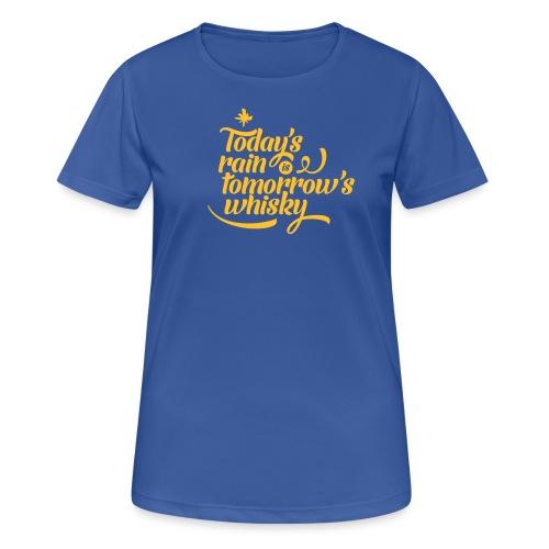 Today's Rain - Women's Breathable T-Shirt