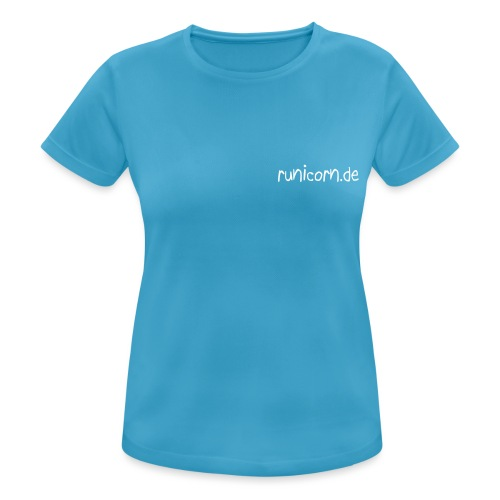 runicorn URL - Frauen T-Shirt atmungsaktiv