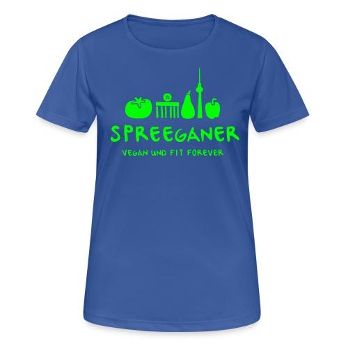 Spreeganer Logo - Frauen T-Shirt atmungsaktiv