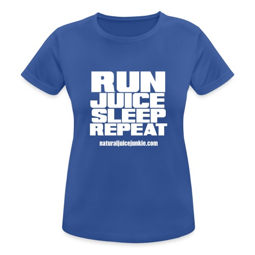 Run Juice Sleep Repeat - Women's Breathable T-Shirt