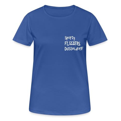 flizzer zweifarbig - Frauen T-Shirt atmungsaktiv