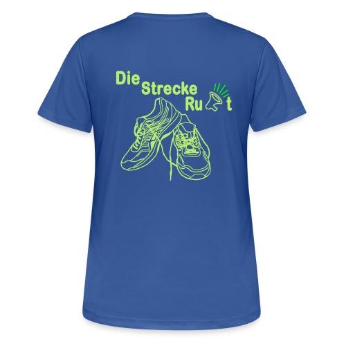 DieStreckeRuft - Frauen T-Shirt atmungsaktiv