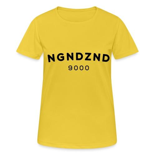 NGNDZND - Vrouwen T-shirt ademend actief