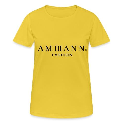 AMMANN Fashion - Frauen T-Shirt atmungsaktiv