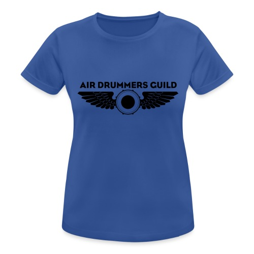 ADG Drum'n'Wings Emblem - Women's Breathable T-Shirt