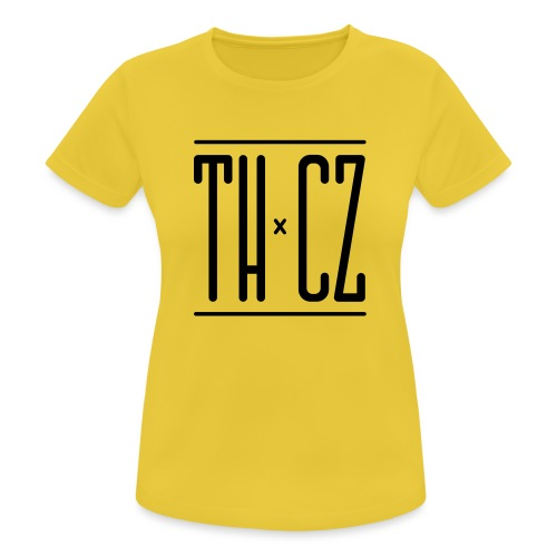 Logo THxCZ - T-shirt respirant Femme