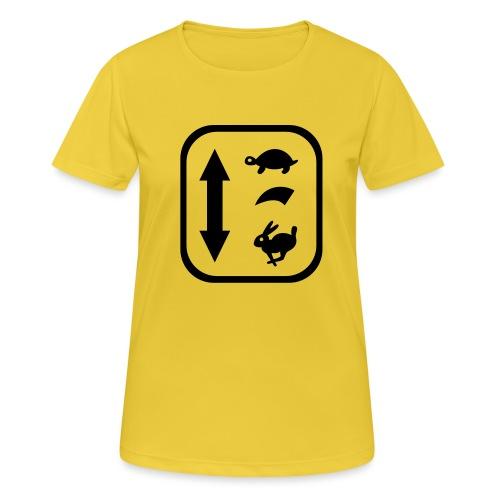 traktor schaltung - Frauen T-Shirt atmungsaktiv
