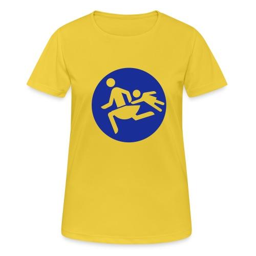 Running Mamas - Frauen T-Shirt atmungsaktiv