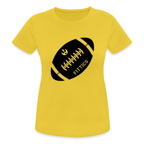 Fittics American Football - Women's Breathable T-Shirt