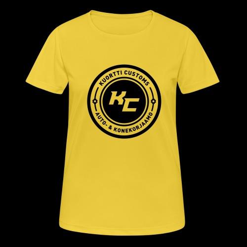 kc_tunnus_2vari - naisten tekninen t-paita