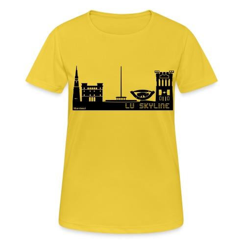 Lu skyline de Terni - Maglietta da donna traspirante