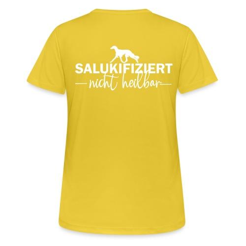 Saluki - nicht heilbar - Frauen T-Shirt atmungsaktiv