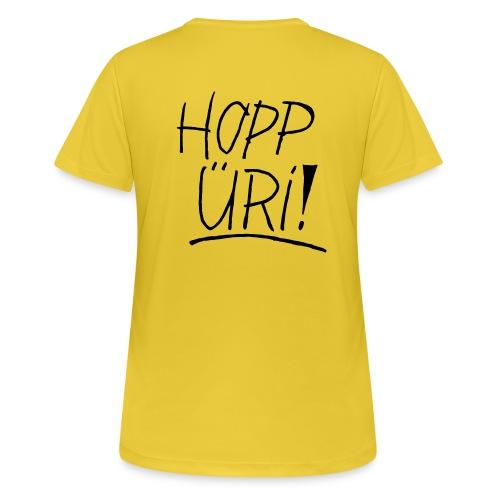 Hopp Üri - Frauen T-Shirt atmungsaktiv