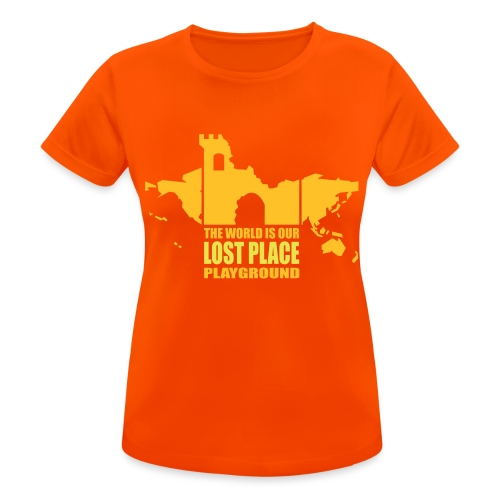 Lost Place - 2colors - 2011 - Frauen T-Shirt atmungsaktiv