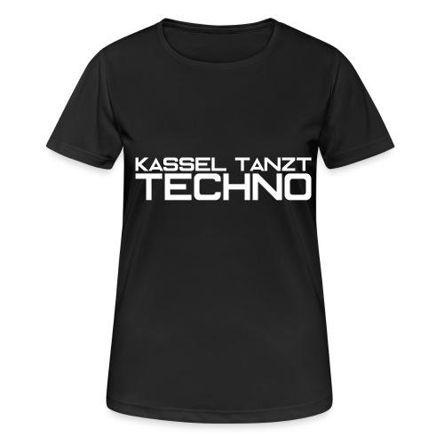KASSEL TANZT TECHNO - Frauen T-Shirt atmungsaktiv