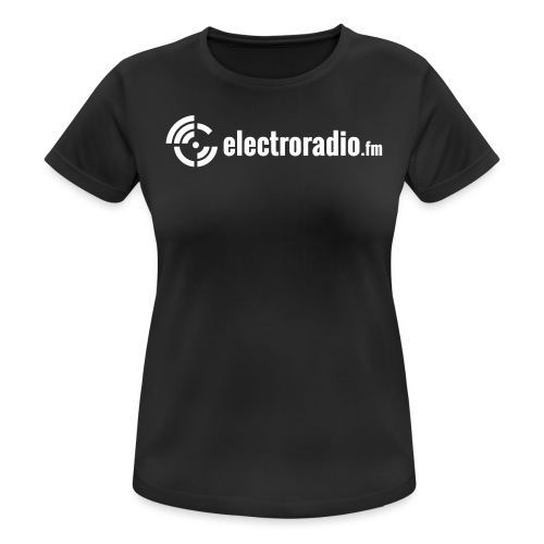 electroradio.fm - Women's Breathable T-Shirt