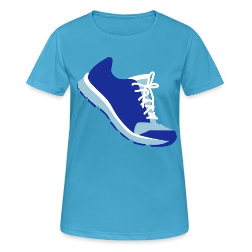 Laufschuh - Frauen T-Shirt atmungsaktiv