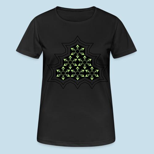 Stern - Frauen T-Shirt atmungsaktiv