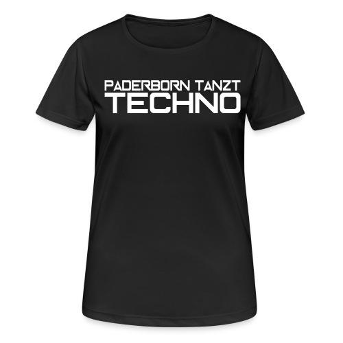 PADERBORN TANZT TECHNO - Frauen T-Shirt atmungsaktiv