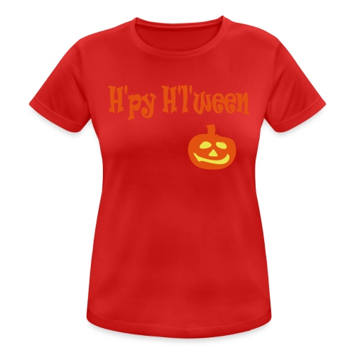 Happy Halloween - Frauen T-Shirt atmungsaktiv