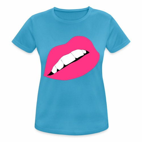 Usta - Koszulka damska oddychająca