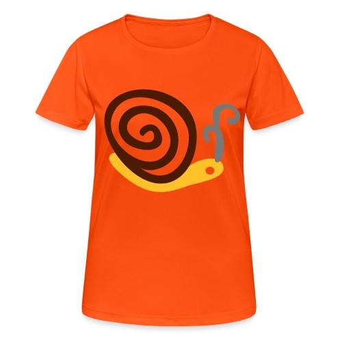 Lumaca - Maglietta da donna traspirante