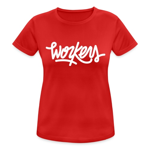 Logo WorkersBeats - T-shirt respirant Femme