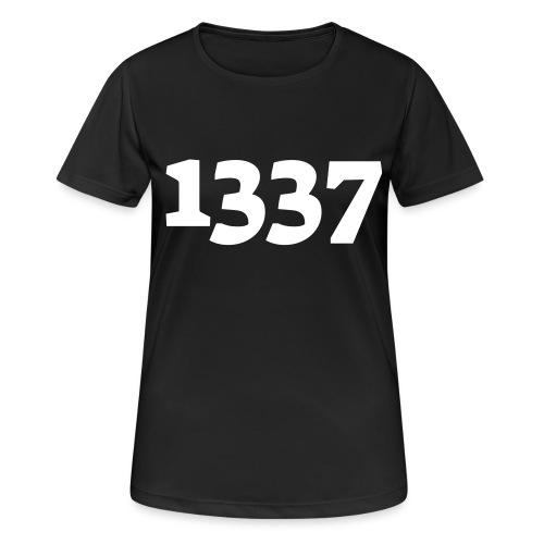 1337 - Dame T-shirt svedtransporterende