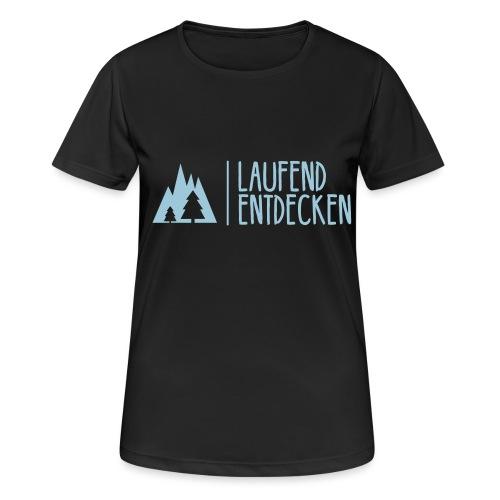 Klassisch - Flexdruck - Frauen T-Shirt atmungsaktiv