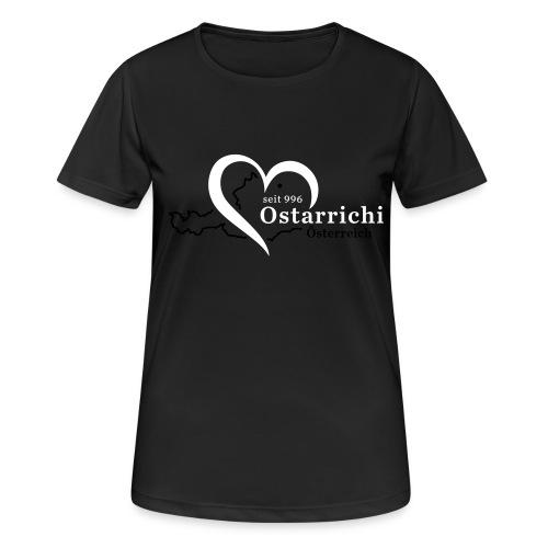 heartoftaustria - Frauen T-Shirt atmungsaktiv
