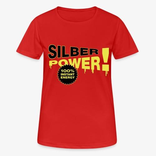 SilberPower! - Dame T-shirt svedtransporterende