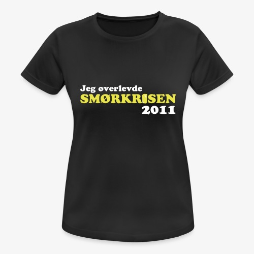 Smørkrise 2011 - Norsk - Pustende T-skjorte for kvinner