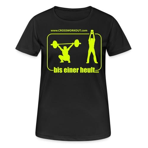 CW BisEiner v11k - Frauen T-Shirt atmungsaktiv