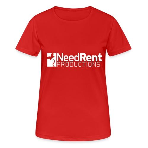 NeedRent Produktions - Dame T-shirt svedtransporterende